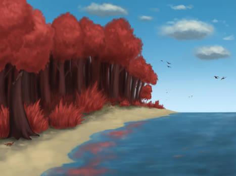 Ruby beads isles shore