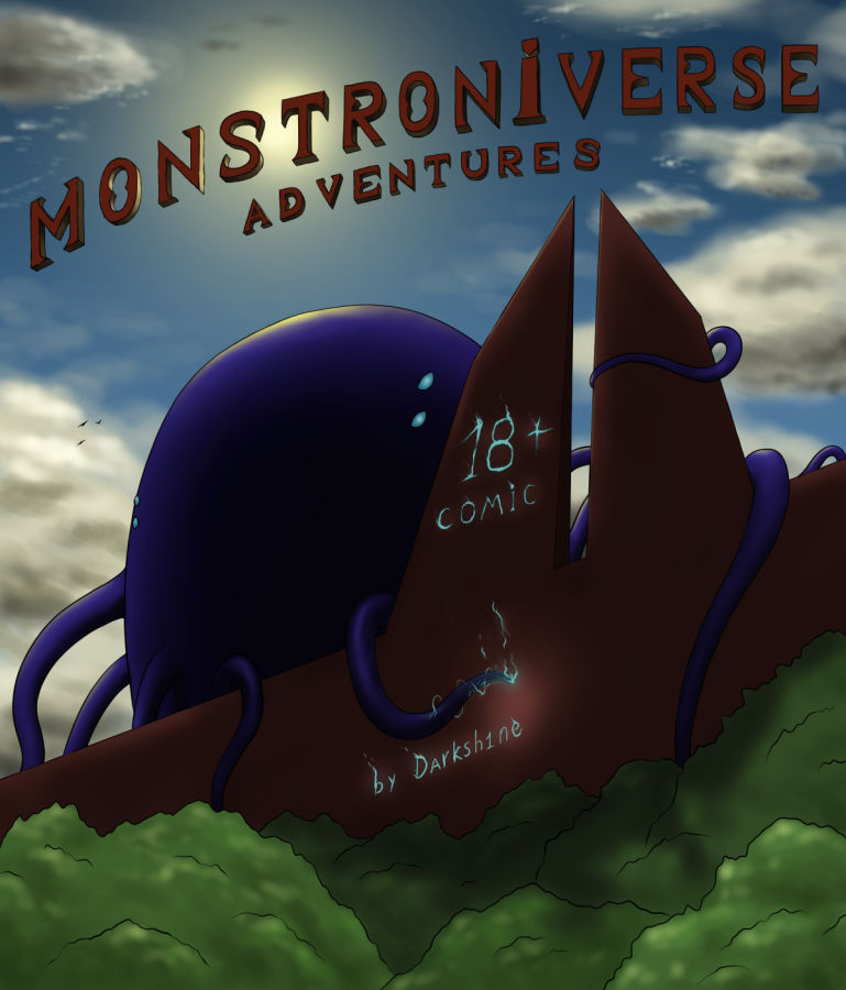 Monstroniverse adventures DA cover