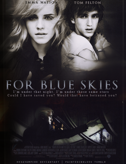 For blue skies. contest II by Hesavampire