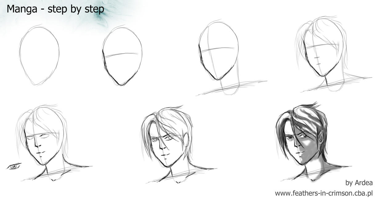 Manga man- tutorial by Ardea4 on DeviantArt