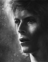 David Bowie by AnnikeAndrews