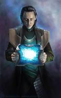 Loki... again :) by AnnikeAndrews