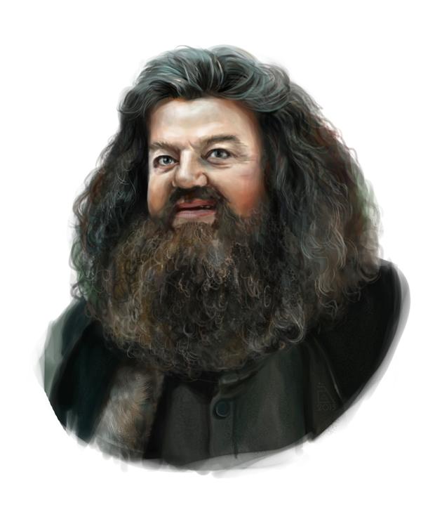 Rubeus Hagrid by AnnikeAndrews