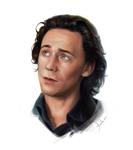 Tom Hiddleston by AnnikeAndrews
