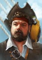 Pirate speedpaint by AnnikeAndrews