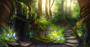 Magic Forest by AnnikeAndrews