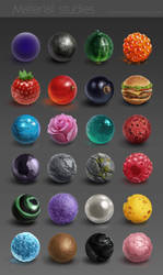 Material studies by AnnikeAndrews