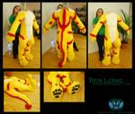 Tien Long Bodysuit + Paws