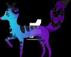 Space Fox by SenbreadScribbles
