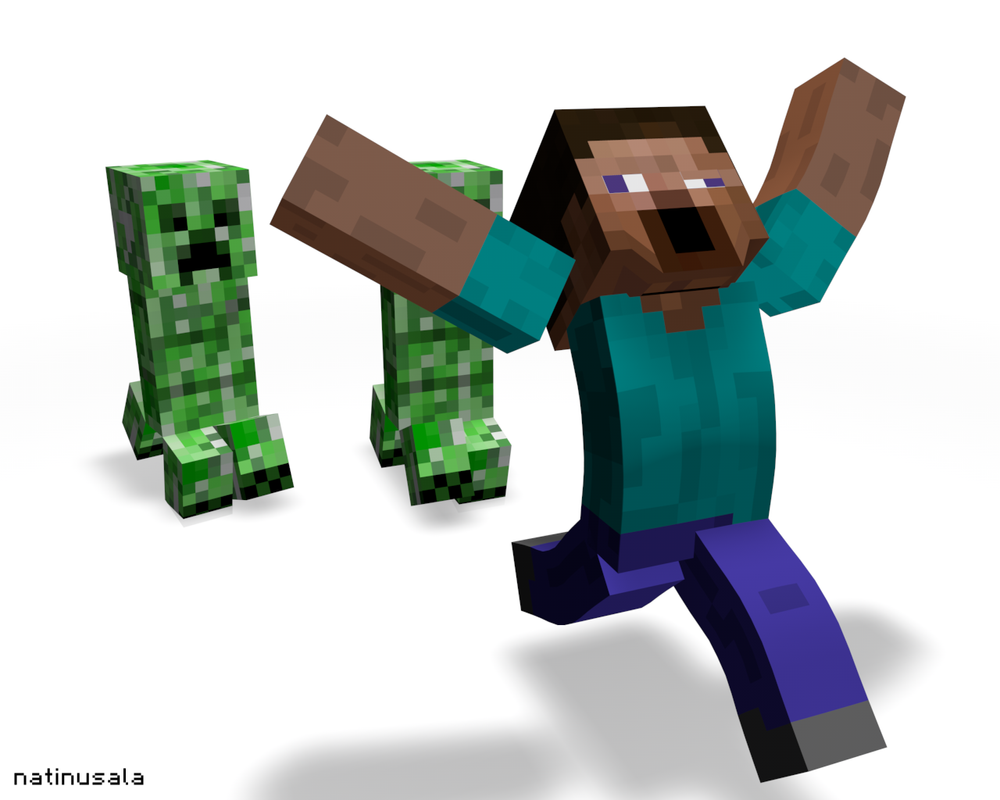 The Gallery For Gt Minecraft Steve Renders