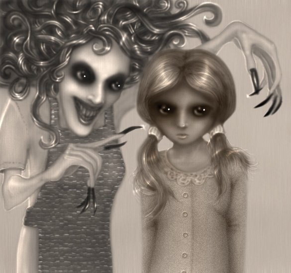 Coraline And Her Other Mother By Ksenuli On DeviantArt