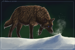 The First Snow - Speedpainting by WindSeeker
