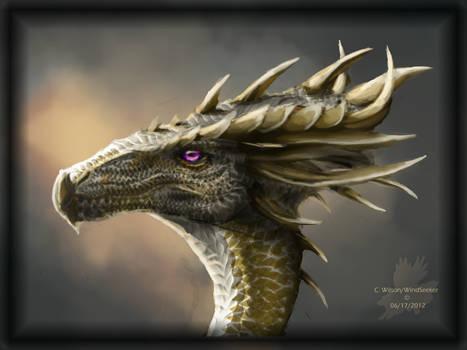 The  Horned One by WindSeeker