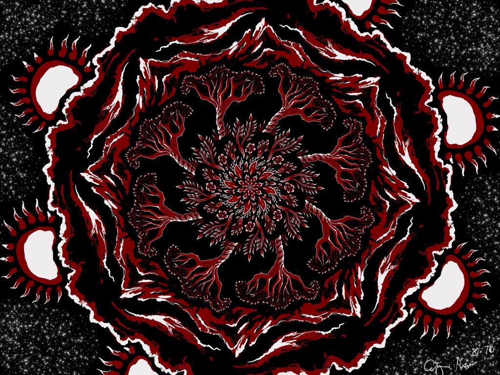 Red Sun by WindSeeker