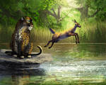 Panther and Fawn - DTIYS