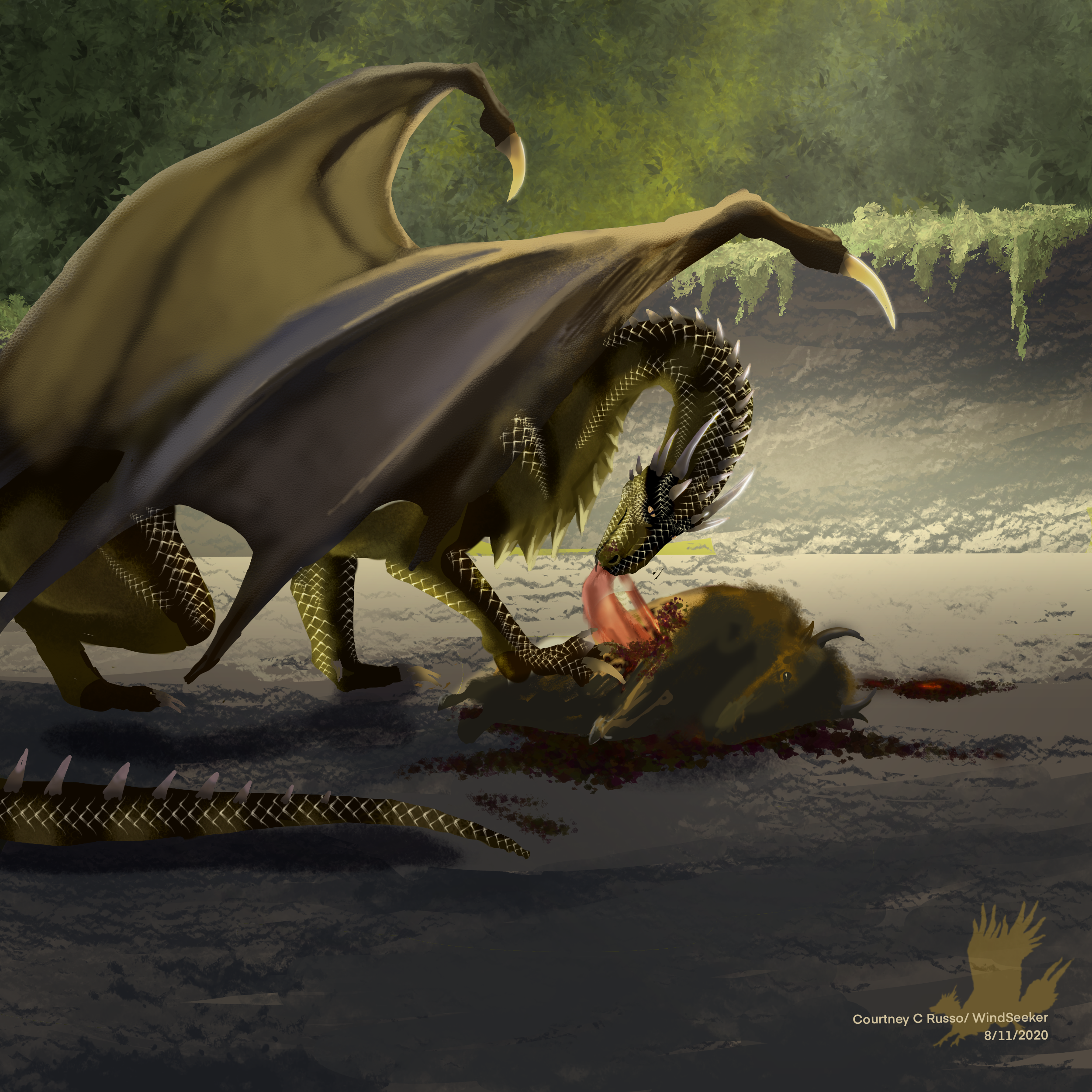 Hunt - Smaugust Day 11