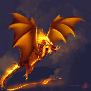 Fire -Smaugust Day 15