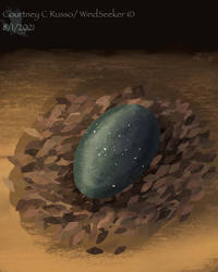 Smaugust Day 1 - Egg