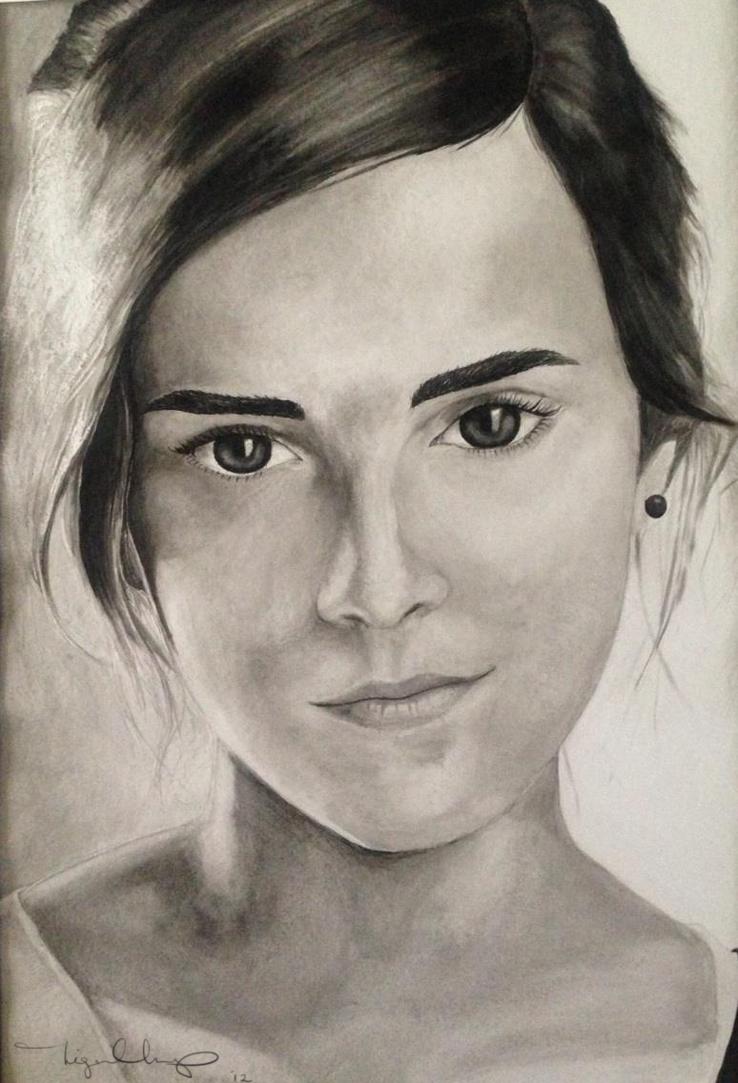 India Ink - Emma by DaEliminator