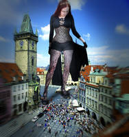 Amarie in Prague by Gold-Phish