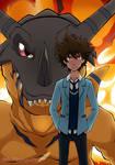 Tai y Greymon (Digimon Adventure tri)