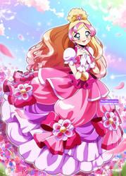 [SPEEDPAINT] Cure Flora Elegant Mode