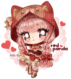 [Auction] Red Panda - CLOSED