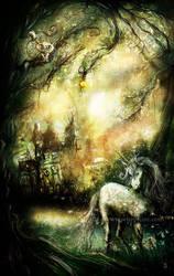 Unicorn - Commission by senyphine