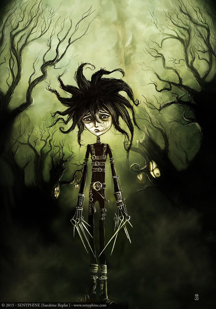 Edward Scissorhands - Play Boy Book by senyphine on DeviantArt
