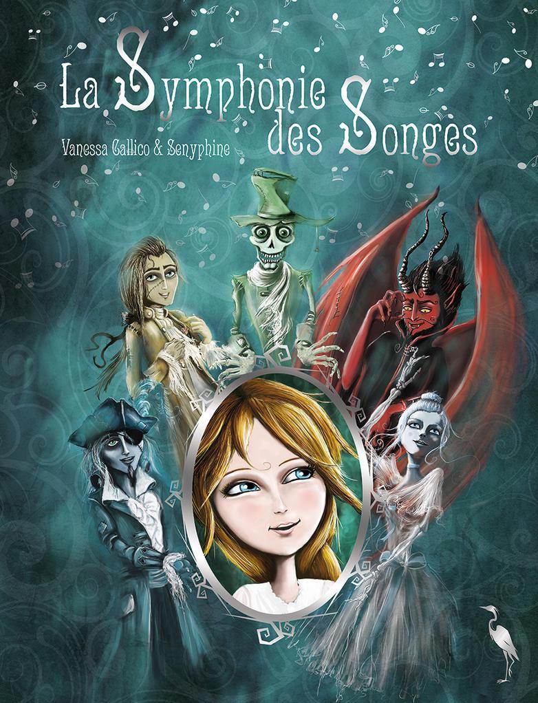 La Symphonie des songes Book Cover by senyphine