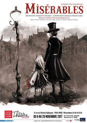 Poster Miserables by senyphine