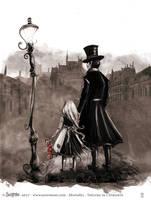 Miserables - illustration by senyphine