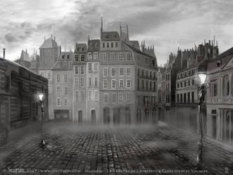 Miserables - Theatre set - Paris by senyphine