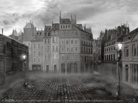 Miserables - Theatre set - Paris