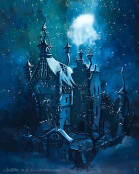 Edward Scissorhands castle