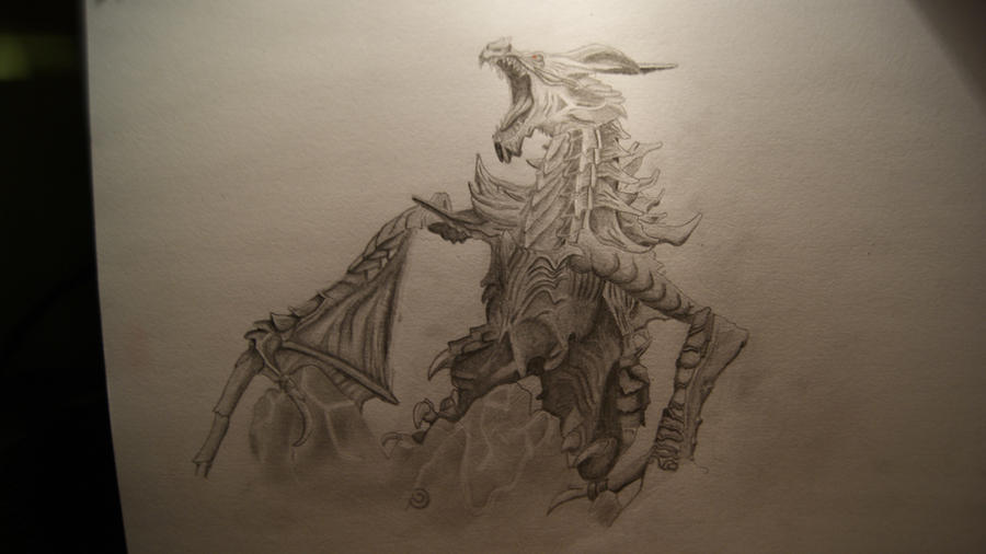 above is skyrim drawing - photo #48