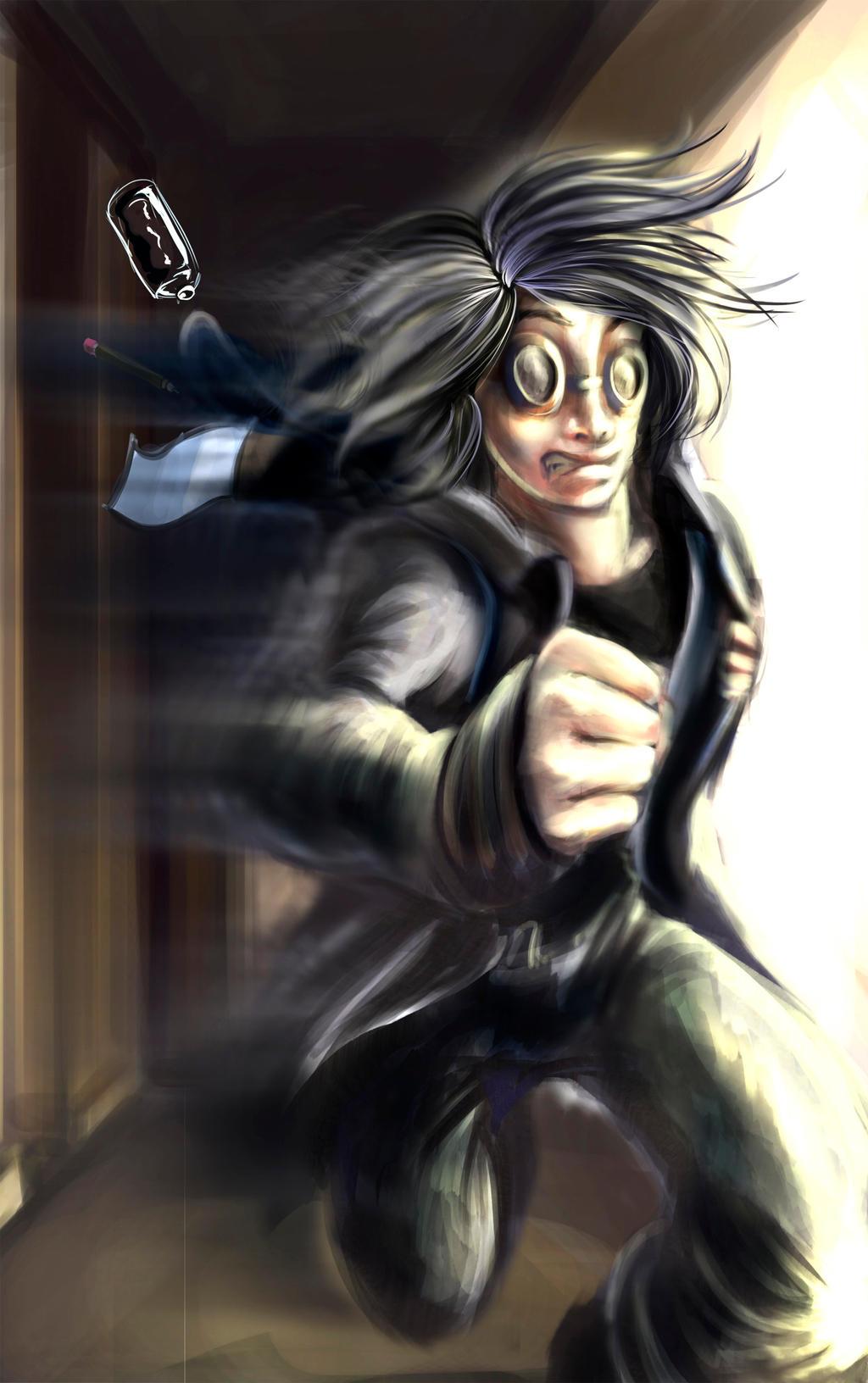 Quicksilver on the marvel universe deviantart - Quicksilver wallpaper marvel ...