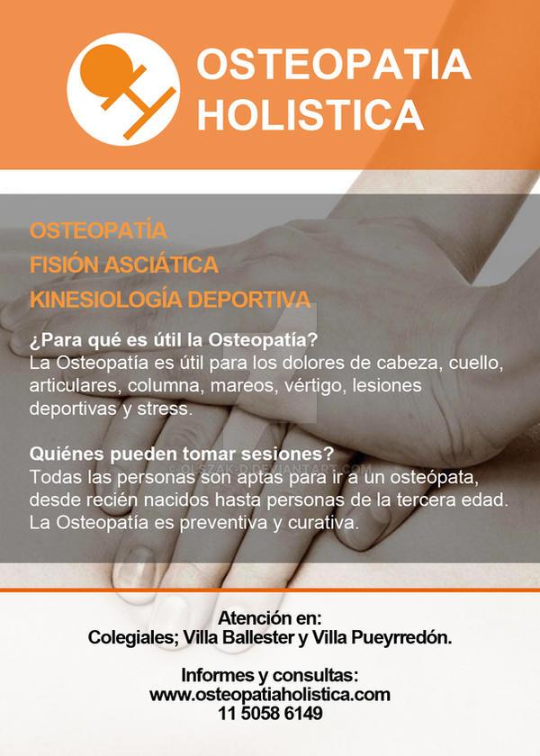 Folleto Osteopatia Holistica by olszak-d