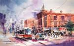 Toronto - Watercolor Painting