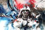 Darth Vader - Watercolour
