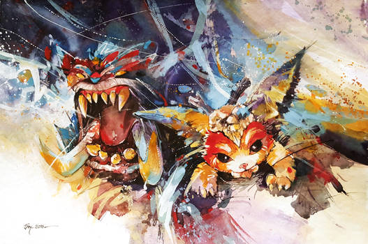 League of legends - Gnar, The Missing Link