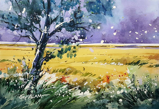 Landscape Watercolour Demonstration