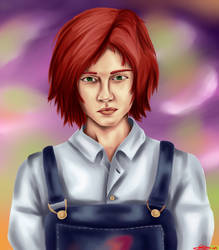 Realistic Style Rin Tezuka by YoritomoDaishogun