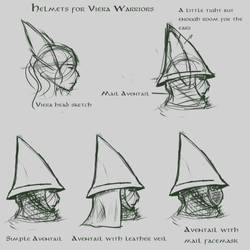 Helmet for characters with long ears
