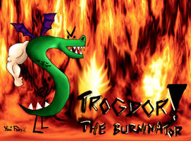 TROGDOR Wallpaper XD by GhettoRainbowCat
