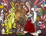A lot of Rabbits