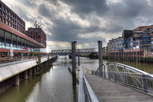 Hamburg Speicherstadt Pier