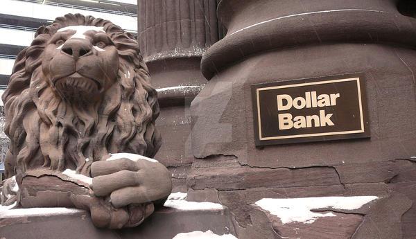 Dollar Bank Lion 3 by thenameisplissken