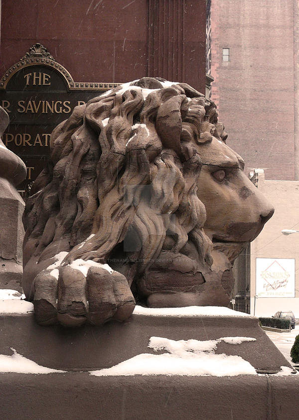 Dollar Bank Lion 5 by thenameisplissken