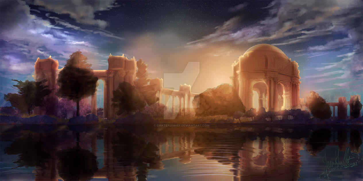 SF Palace of Fine Arts by chateaugrief